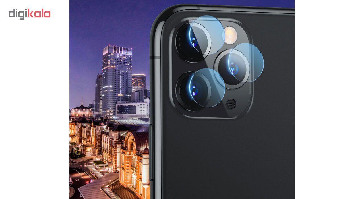 محافظ لنز دوربین هورس مدل UTF مناسب برای گوشی موبایل اپل iPhone 11 Pro Max بسته سه عددی main 1 3
