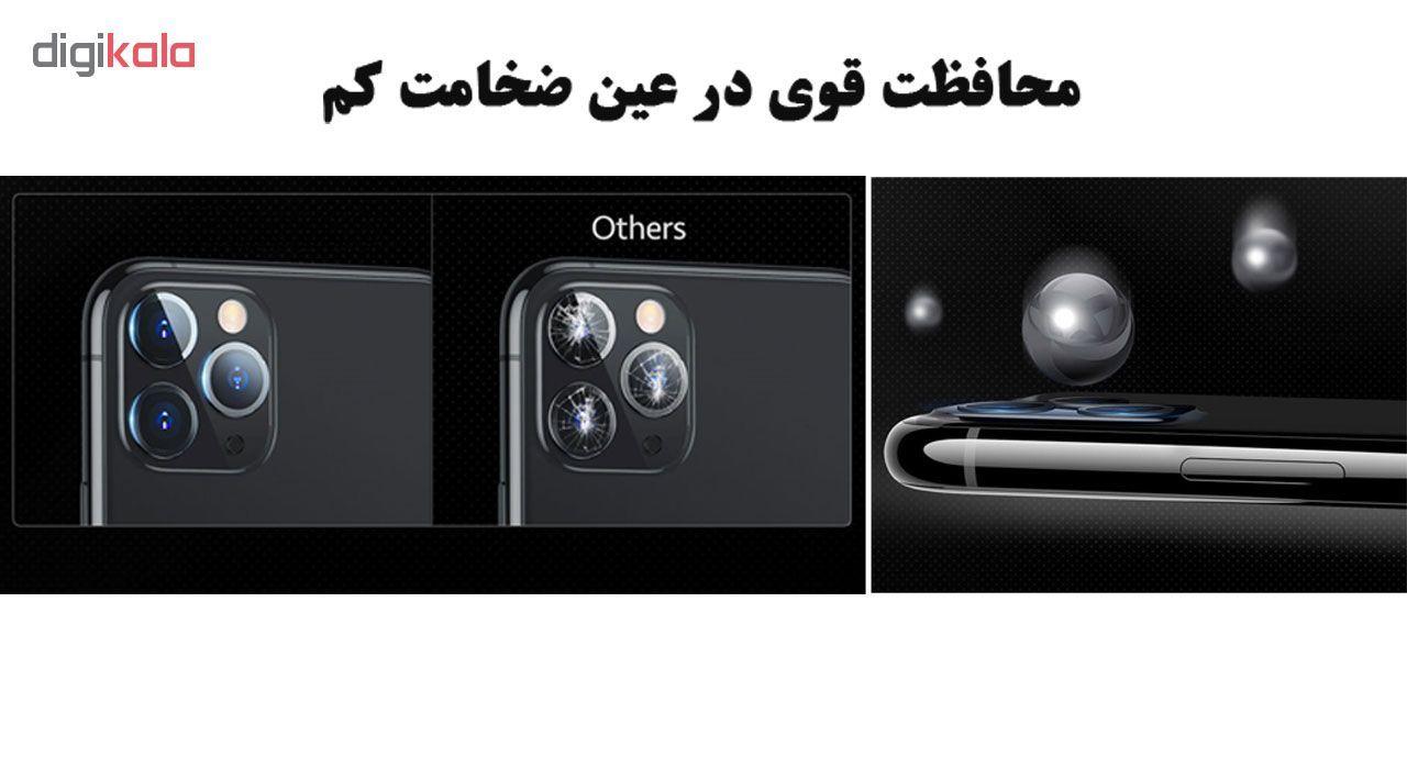 محافظ لنز دوربین هورس مدل UTF مناسب برای گوشی موبایل اپل iPhone 11 Pro Max بسته سه عددی main 1 6