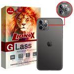 محافظ لنز دوربین لایونکس مدل UTFS مناسب برای گوشی موبایل اپل iPhone 11 Pro Max بسته دو عددی