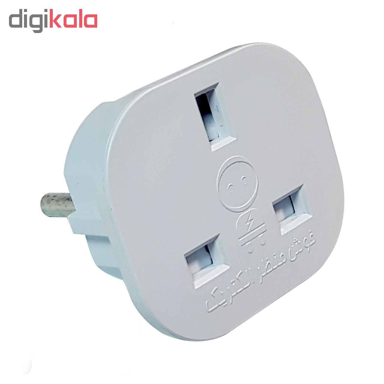 خرید اینترنتی مبدل برق خوش منظر الکتریک کد 005 اورجینال