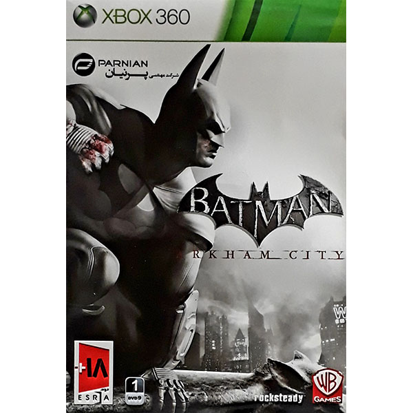 بازی batman arkham city مخصوص xbox360