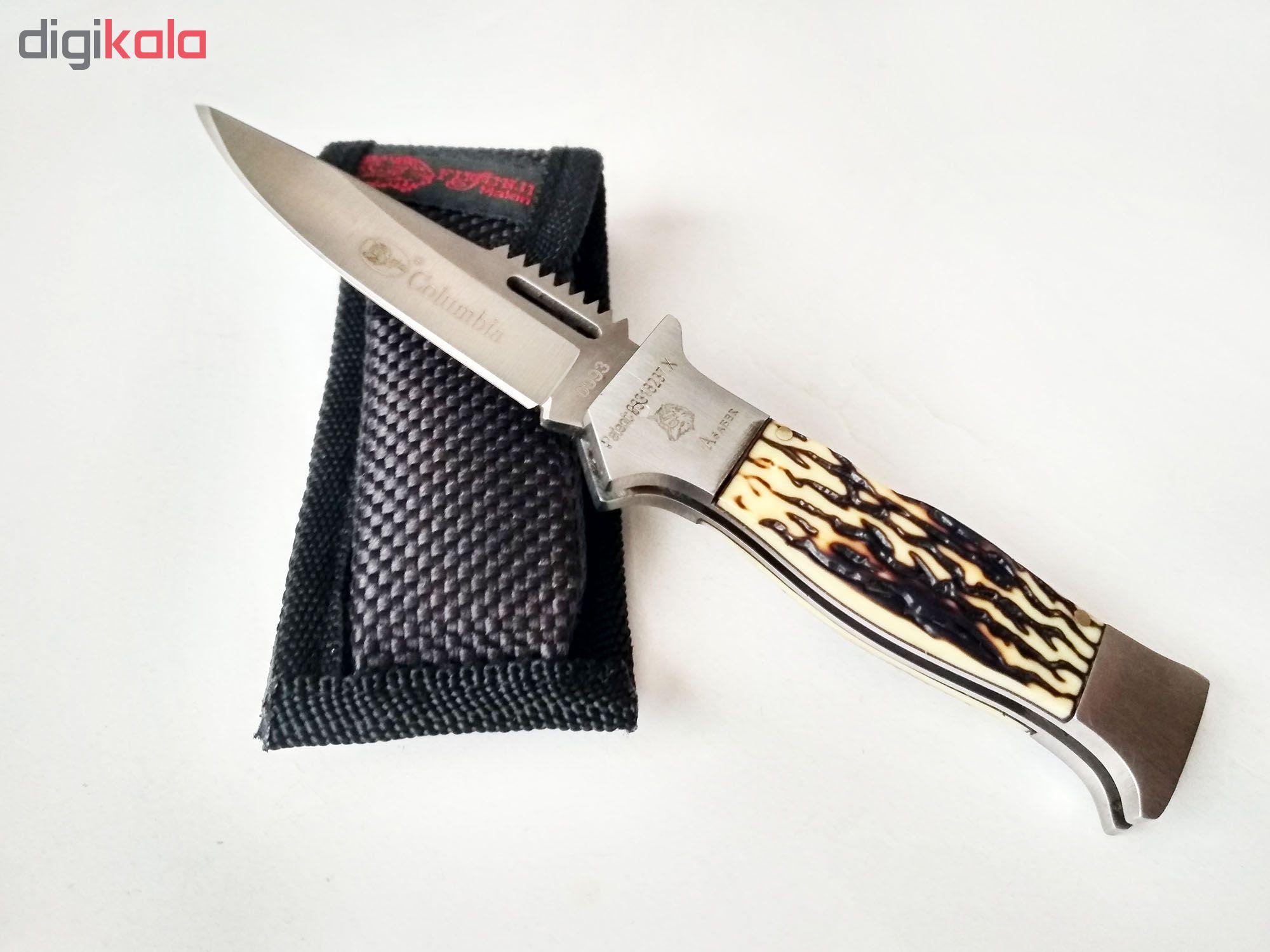 چاقو سفری کلمبیا مدل 0993