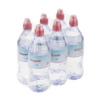 آب آشامیدنی دماوند حجم 820 میلی لیتر بسته 6 عددی