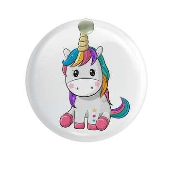 آینه جیبی  طرح اسب تکشاخ یونیکورن کد ai10