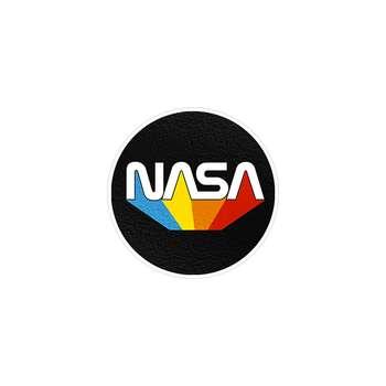 استیکر لپ تاپ ماسا دیزاین طرح ناسا مدل STK17