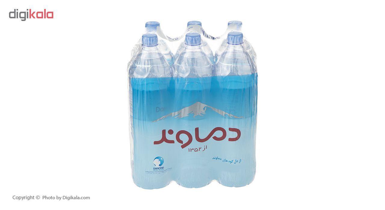 آب آشامیدنی دماوند حجم 1.5 لیتر بسته 6 عددی main 1 3