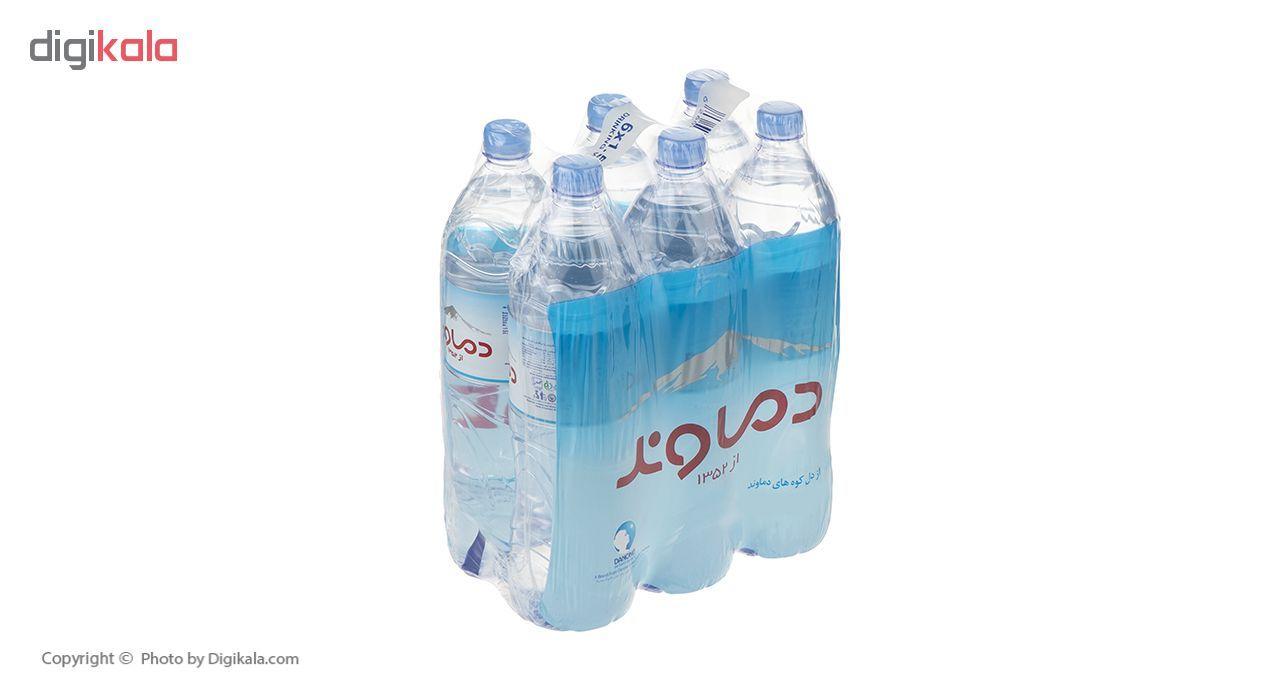 آب آشامیدنی دماوند حجم 1.5 لیتر بسته 6 عددی main 1 1