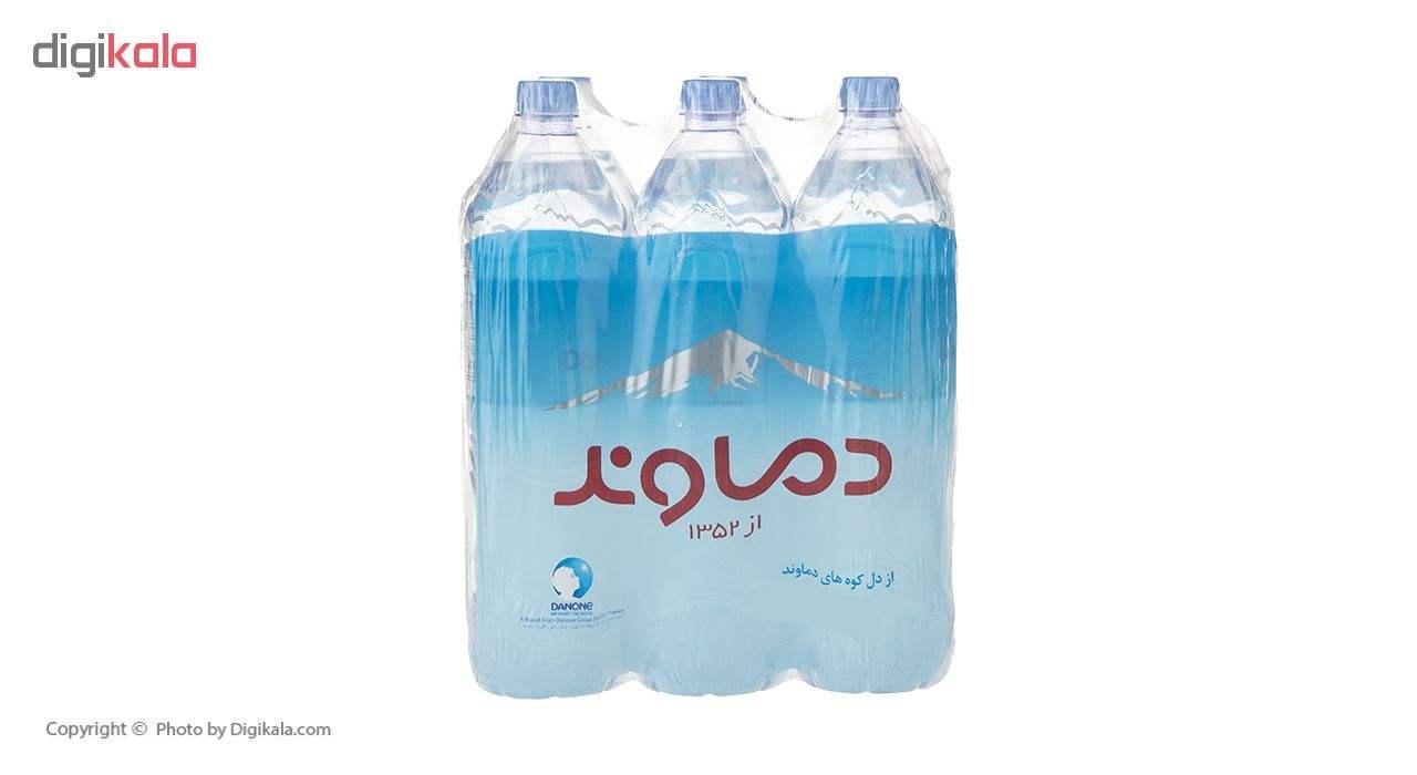 آب آشامیدنی دماوند حجم 1.5 لیتر بسته 6 عددی main 1 2
