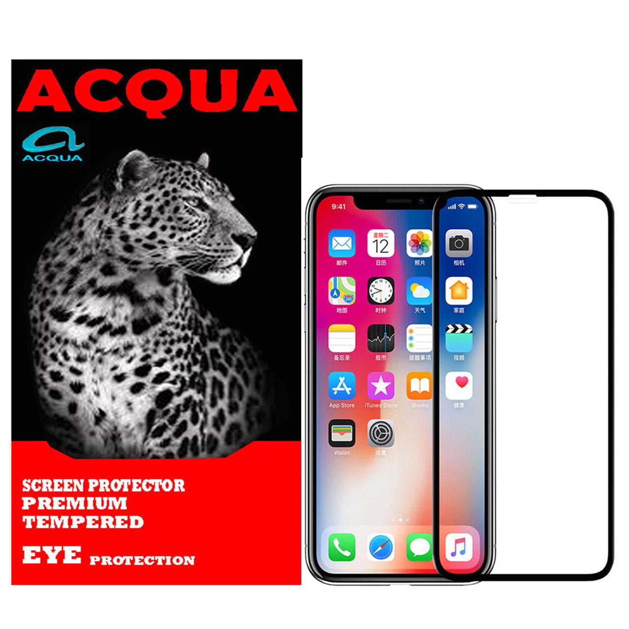 محافظ صفحه نمایش آکوا مدل IPH مناسب برای گوشی موبایل اپل IPHONE XS MAX