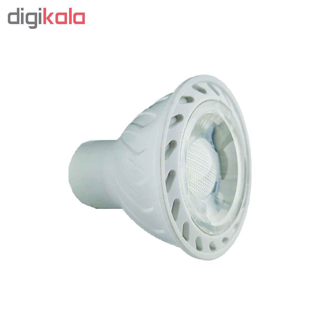 لامپ هالوژن 7 وات مدل AKH01 پایه GU5.3 main 1 2