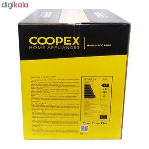 جاروبرقی سطلی کاپکس مدل vcc3600