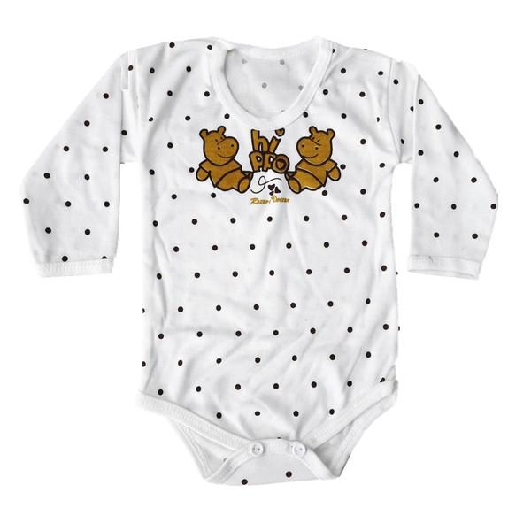 بادی نوزادی دخترانه کد 44332KH