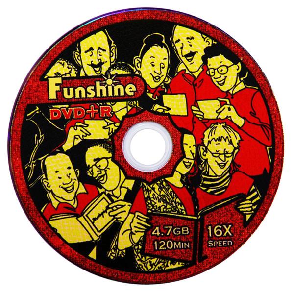دی وی دی خام فانشاین مدل Fun600 بسته 600 عددی