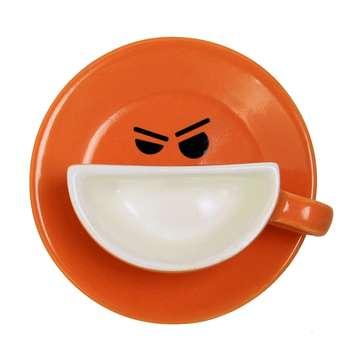 فنجان و نعلبکی طرح لبخند مدل R01