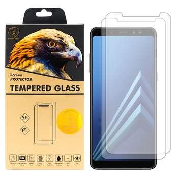 محافظ صفحه نمایش گلدن ایگل مدل GLC-X2 مناسب برای گوشی موبایل سامسونگ Galaxy A8 PLUS 2018 بسته دو عددی
