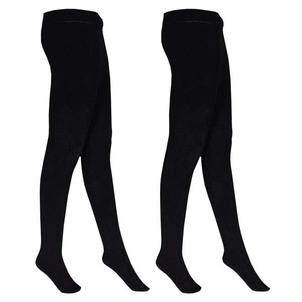 جوراب شلواری زنانه هانی کد 20M بسته 2 عددی