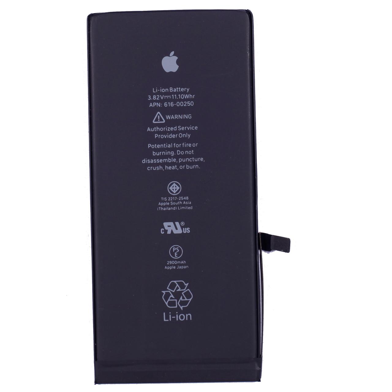 باتری موبایل مدل 00250-616 APN  ظرفیت 2900 میلی آمپر ساعت مناسب برای گوشی موبایل اپل iPhone 7 Plus