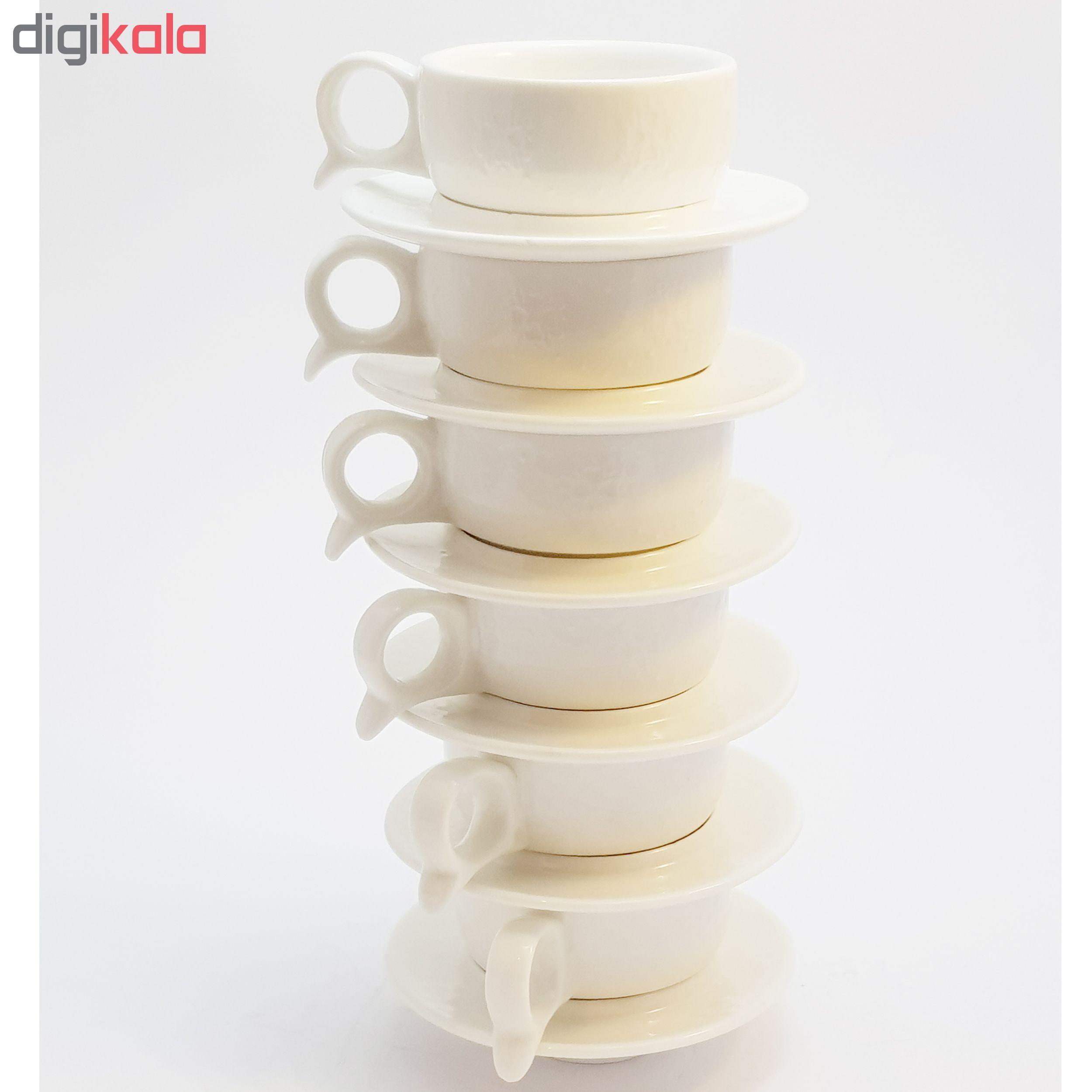 سرویس چای خوری 12 پارچه کافی ست مدل HPS