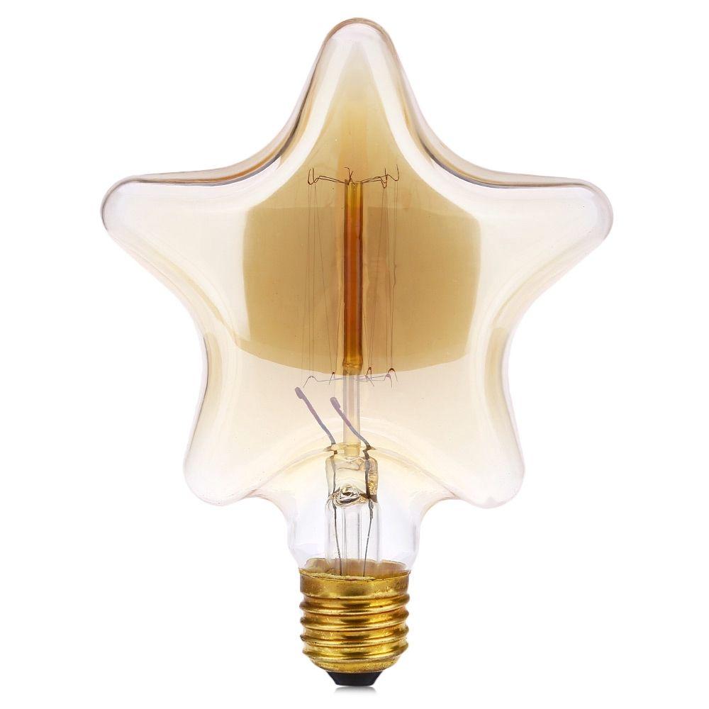 لامپ ادیسونی 40 وات طرح STAR پایه E27