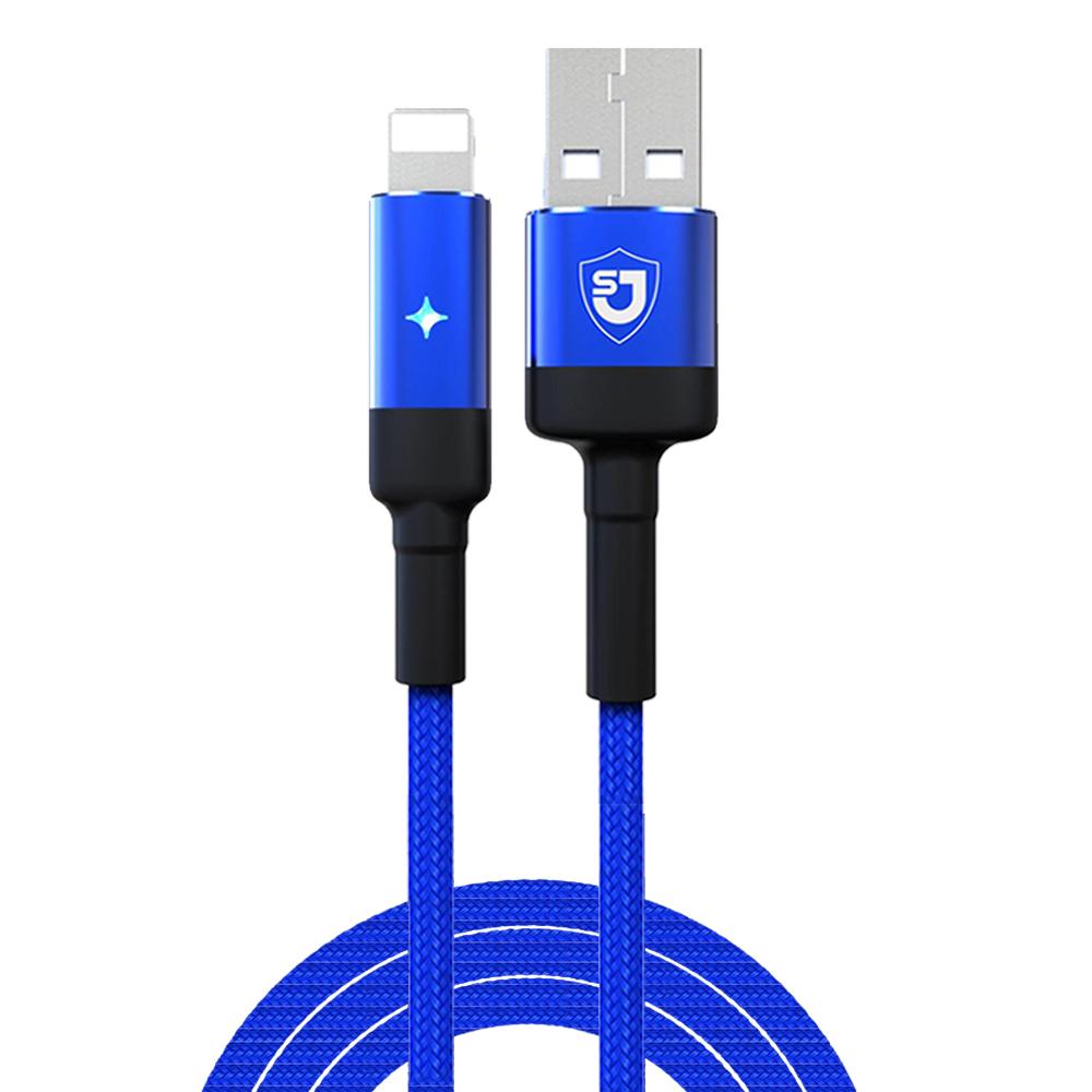 کابل تبدیل USB به لایتنینگ شانگژی مدل SJ-CB-12 طول 1 متر