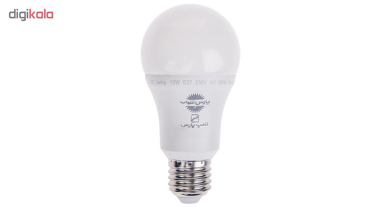 لامپ ال ای دی 12 وات پارس شهاب پایه E27 main 1 4