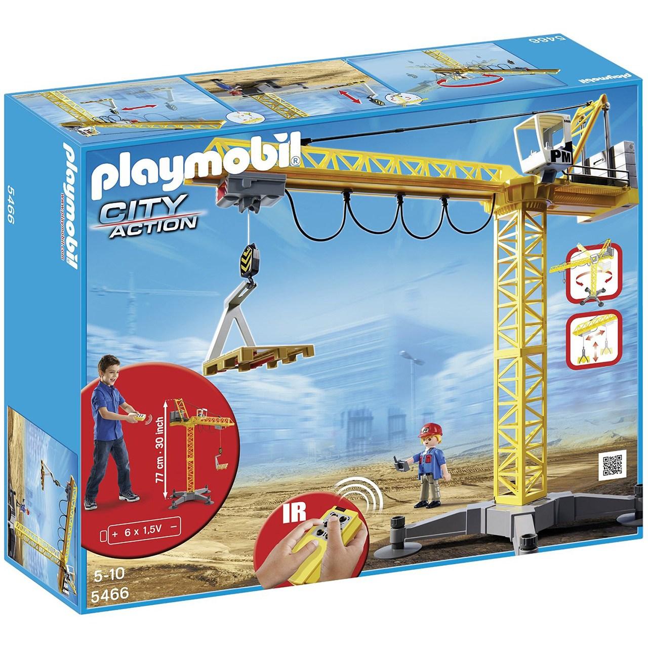 ساختنی پلی موبیل مدل Large Crane with IR Remote Control 5466