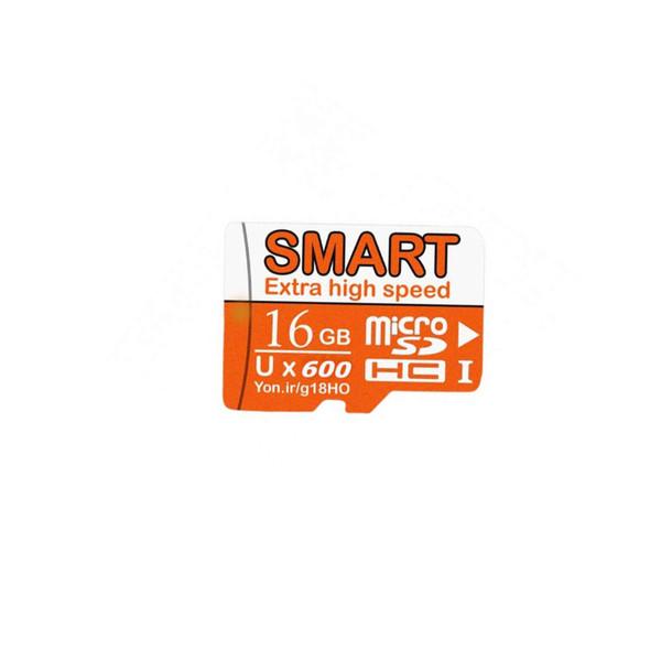 کارت حافظه microSDHC اسمارت مدل UX600 کلاس 10 استاندارد UHS-I سرعت 90MBps ظرفیت 16 گیگابایت