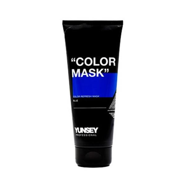 ماسک مو رنگساژ یانسی حجم 200 میلی لیتر کد 02 رنگ آبی