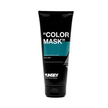 ماسک مو رنگساژ یانسی حجم 200 میلی لیتر کد 03 رنگ آبی فیروزه ای