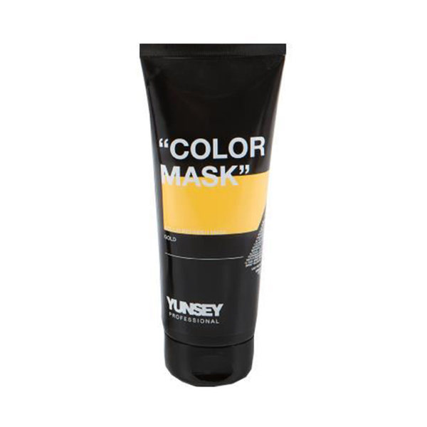 ماسک مو رنگساژ یانسی حجم 200 میلی لیتر کد 05 رنگ طلایی