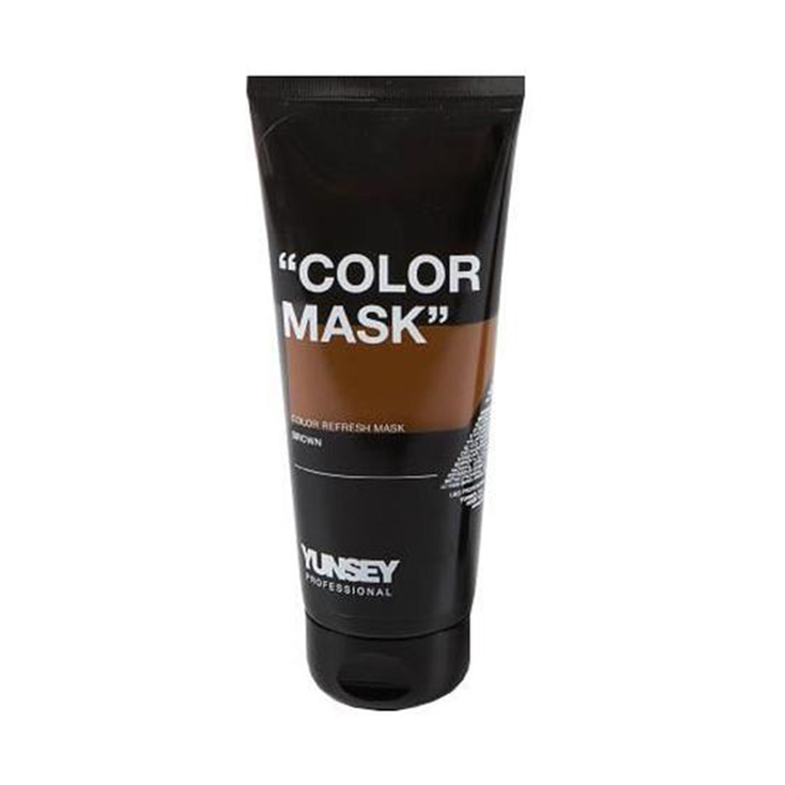 ماسک مو رنگساژ یانسی حجم 200 میلی لیتر کد 06 رنگ قهوه ای