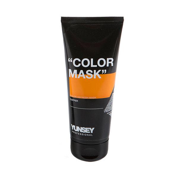 ماسک مو رنگساژ یانسی حجم 200 میلی لیتر کد 07 رنگ مسی