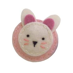 سنجاق سینه زنانه طرح خرگوش کد 0141