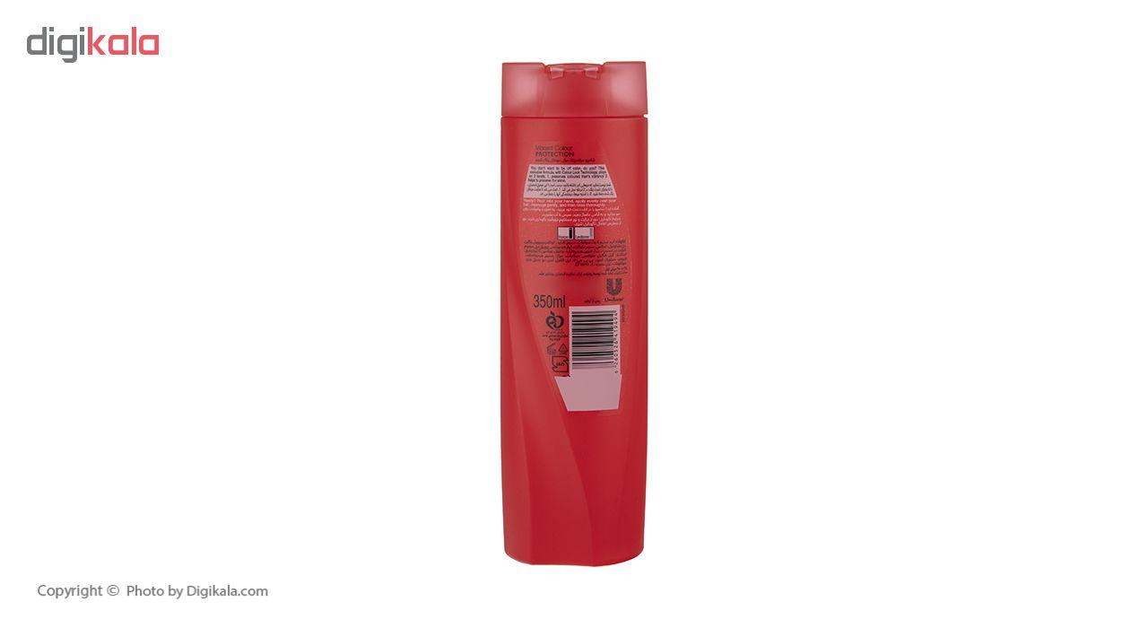 شامپو تثبیت کننده رنگ مو سان سیلک مدل Colour Lock مقدار 350 میلی لیتر