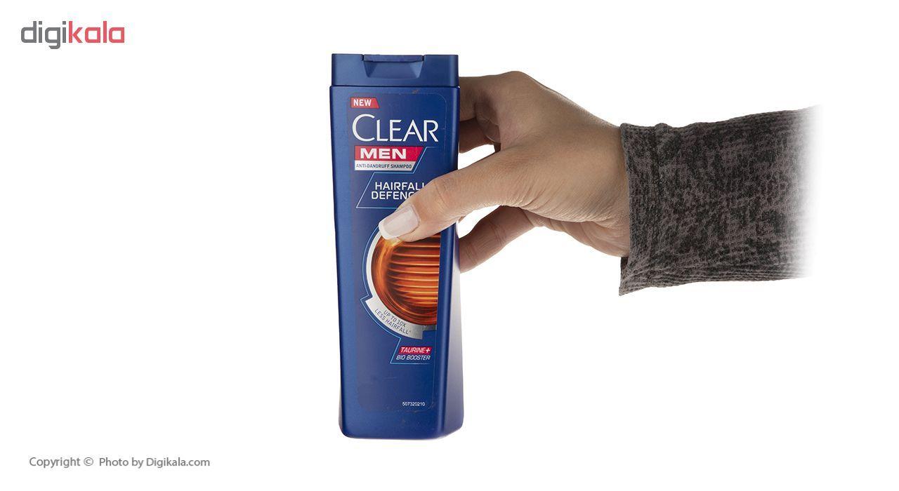 شامپو ضد شوره مردانه کلیر مدل Hairfall Defense حجم 200 میلی لیتر main 1 4