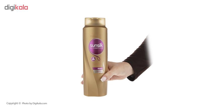 شامپو ضد ریزش مو سان سیلک مدل Hair Fallمقدار 600 میلی لیتر