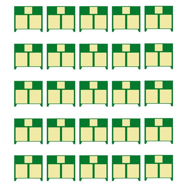 چیپ کارتریج مدل 85A بسته 25 عددی