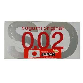 کاندوم ساگامی مدل N02-2 بسته 2 عددی
