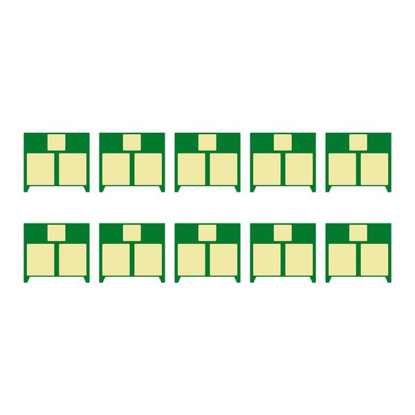 چیپ کارتریج مدل 78A بسته 10 عددی