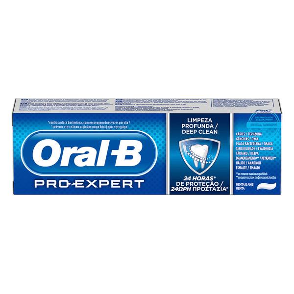 خمیر دندان اورال-بی سری Pro-Expert مدل Deep Clean حجم 75 میلی لیتر