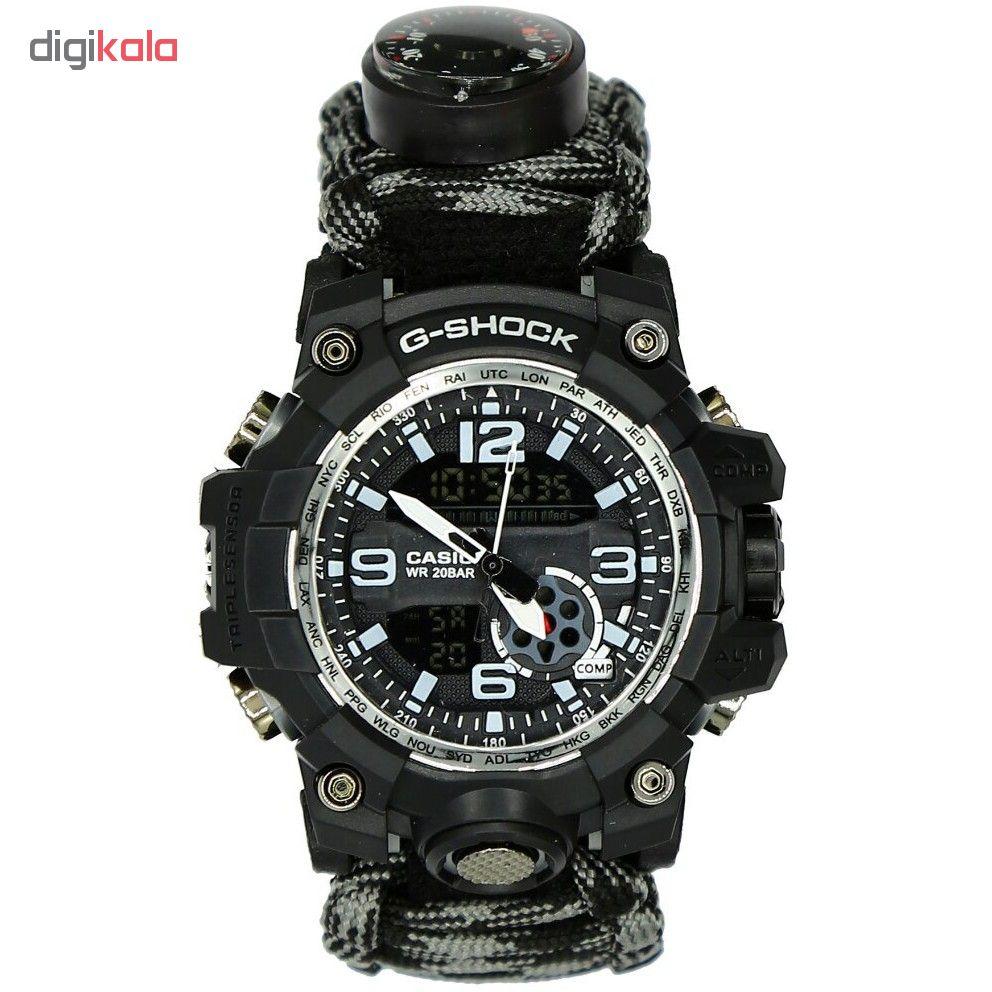 ساعت مچی دیجیتال مردانه مدل G-Sh-Xak-01