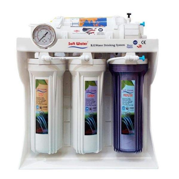 دستگاه تصفیه کننده آب خانگی سافت واتر مدل RO6S