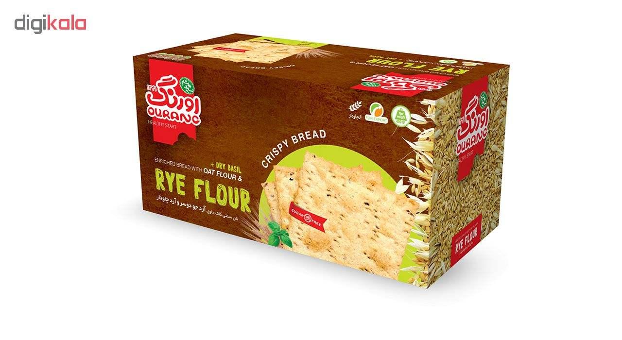 نان سنتی کاک حاوی آرد چاودار اورنگ مقدار 400 گرم main 1 1