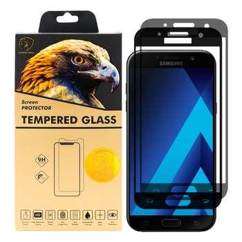 محافظ صفحه نمایش گلدن ایگل مدل DFC-X2 مناسب برای گوشی موبایل سامسونگ Galaxy A7 2017 بسته دو عددی