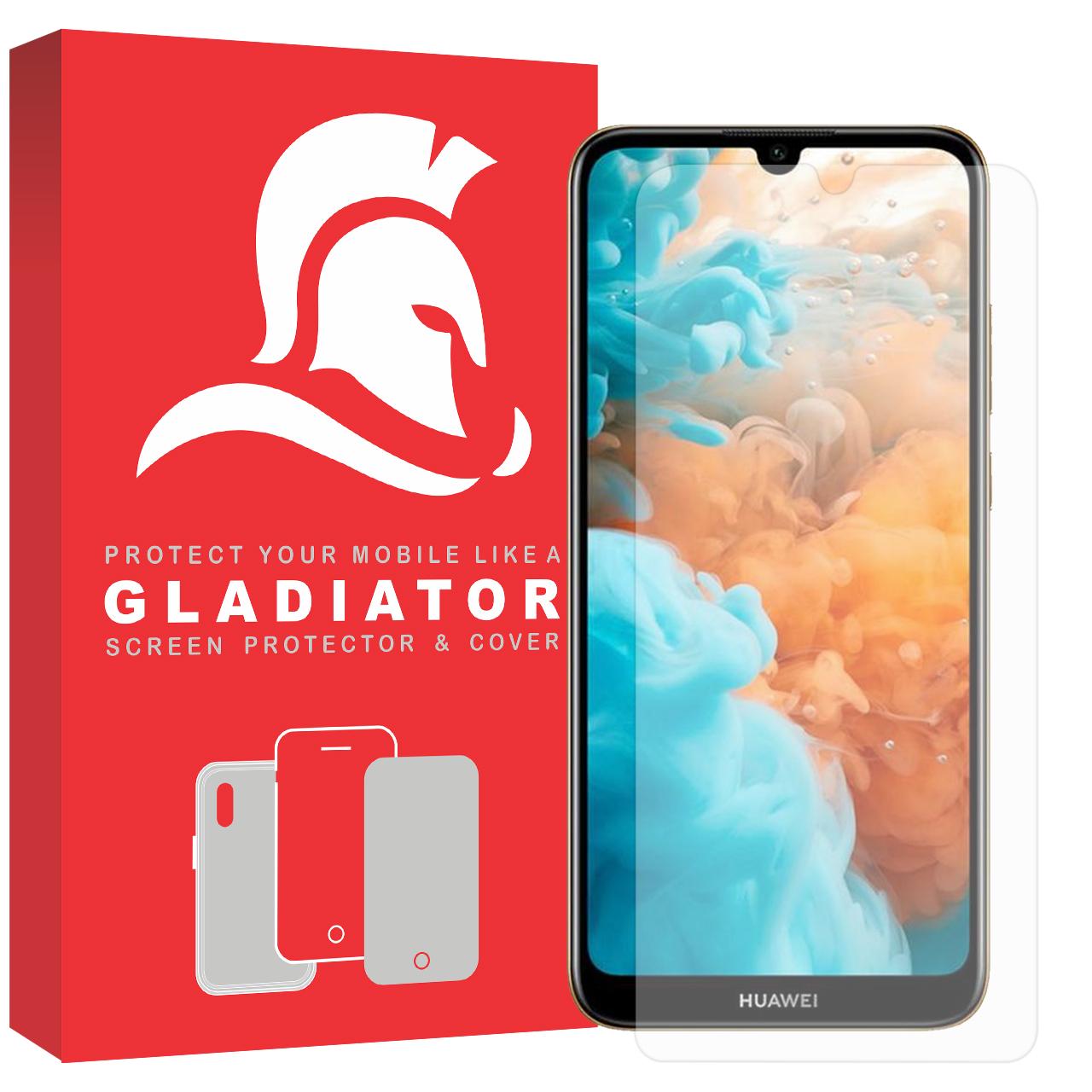 محافظ صفحه نمایش گلادیاتور مدل GLH1000 مناسب برای گوشی موبایل هوآوی Y6 2019