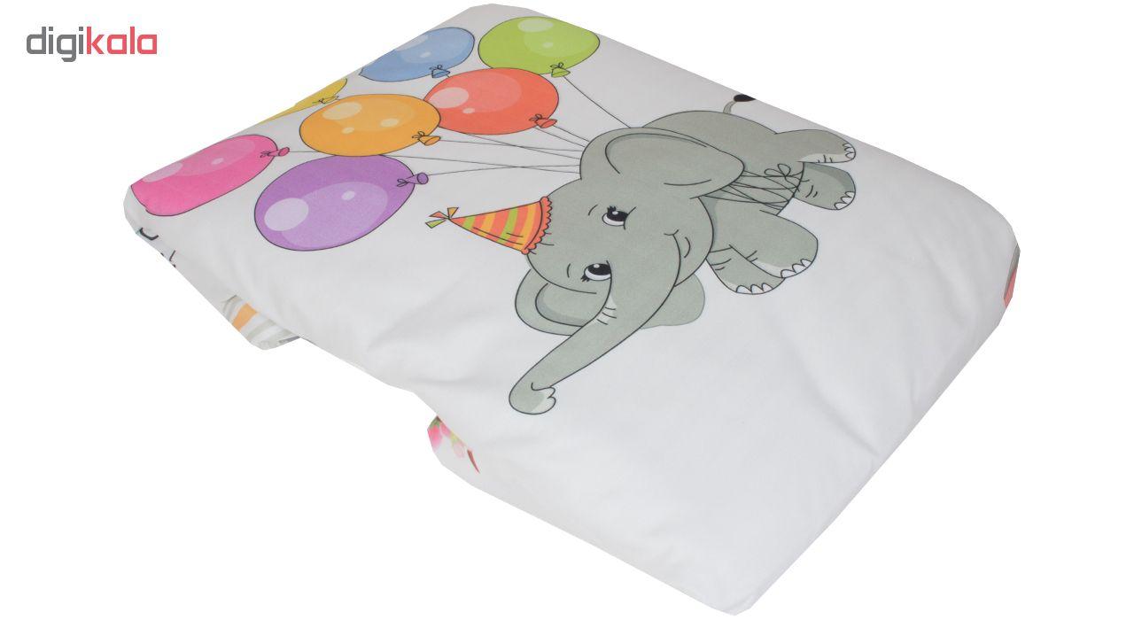 سرویس خواب 3 تکه کودک طرح فیل کد 1194