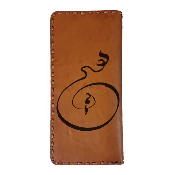 کیف پول مردانه مدل LEATH55