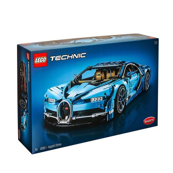 لگو سری Technic مدل Bugatti Chiron کد 42083