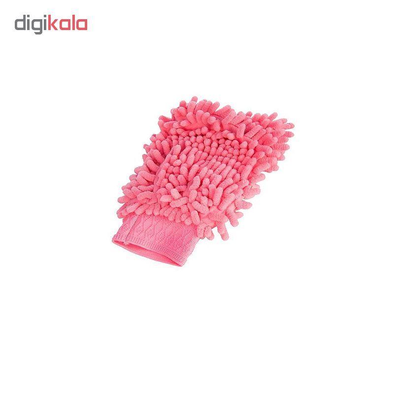 دستمال  میکرو فایبر نظافت خودرو کد 0014 main 1 1