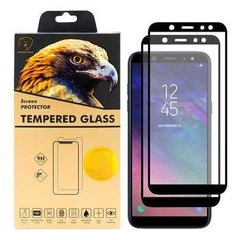 محافظ صفحه نمایش گلدن ایگل مدل DFC-X2 مناسب برای گوشی موبایل سامسونگ Galaxy A6 2018 بسته دو عددی